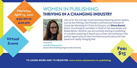 Women in Publishing: Thriving in a Changing Industry tickets