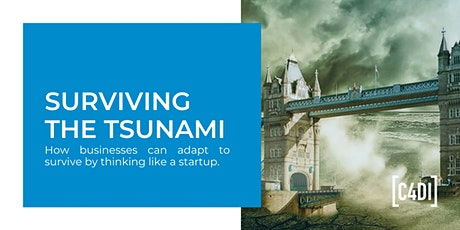 Surviving The Tsunami | Adapt to survive by thinking like a startup tickets