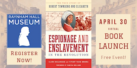 Book Launch: Espionage and Enslavement in the Revolution tickets