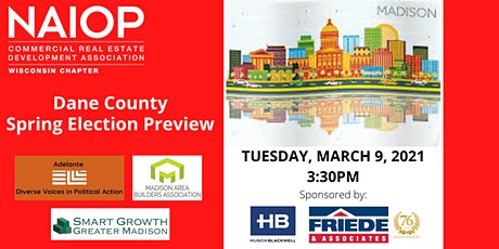NAIOP Wisconsin - Dane County Spring Election Preview tickets
