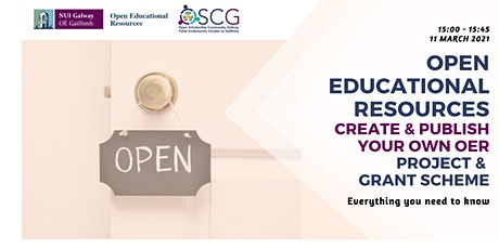 Grant Scheme of Project: Create and Remix Open Educational Resources tickets