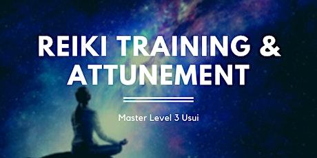 Reiki Master & Master Teacher Level 3 Training & Attunement - 2 day course tickets