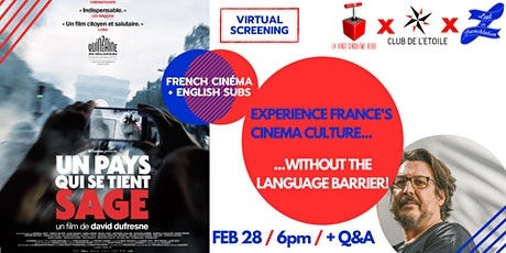 Virtual Movie Night #14: «The Monopoly of Violence» + Q&A with the director tickets