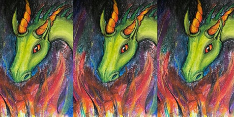 Easely Does It Kids  - Horatio The Dragon - pastels workshop with Maria tickets