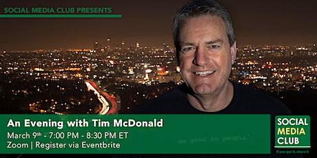 An Evening with Tim McDonald tickets