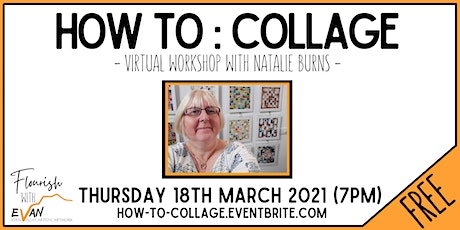 Flourish: How to Collage with Natalie Burns tickets