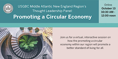 USGBC Middle Atlantic New England region: Promoting a circular economy tickets