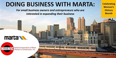 Doing Business with MARTA: MARTA/NABWIC tickets