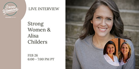 Strong Women and Alisa Childers tickets