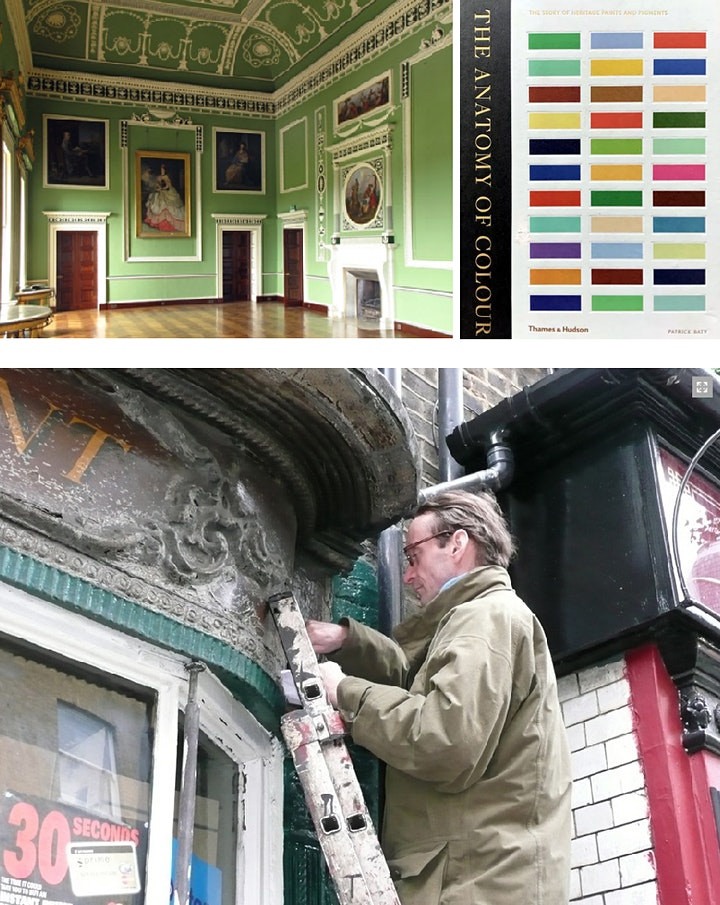 Traditional Paint and the Use of Colour 1700-1955 - Half-Day Webinar image