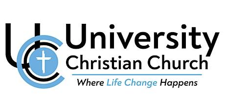 University Christian Church tickets
