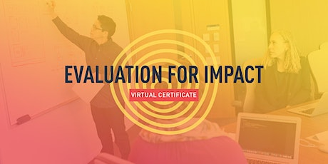 Evaluation for Impact (4 Sessions) tickets