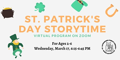 St. Patrick's Day Story Time tickets
