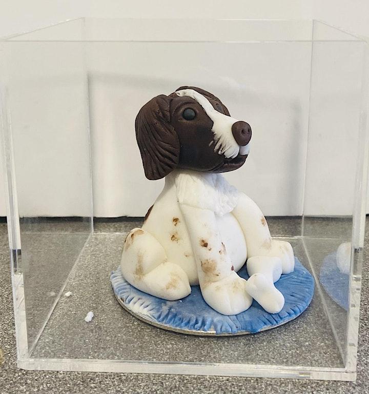 Puppy Love : Spaniel Cake Topper image
