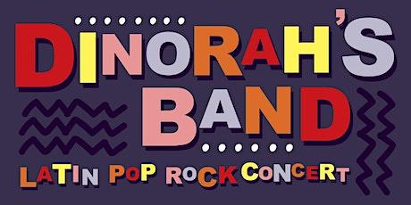 Dinorah's Band- Latin pop rock concert (Virtual) tickets