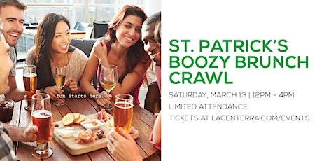 St. Patrick's  Boozy Brunch Crawl (Limited Attendance) tickets