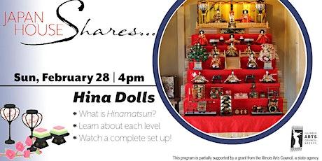 Japan House Shares Hina Dolls tickets