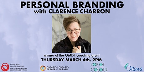 Personal Branding With Clarence Charron tickets