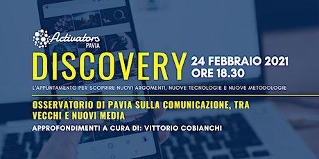 Osservatorio di Pavia sulla comunicazione, tra vecchi e nuovi media biglietti