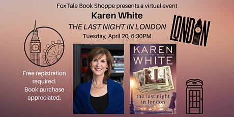 Karen White, The Last Night in London Virtual tickets