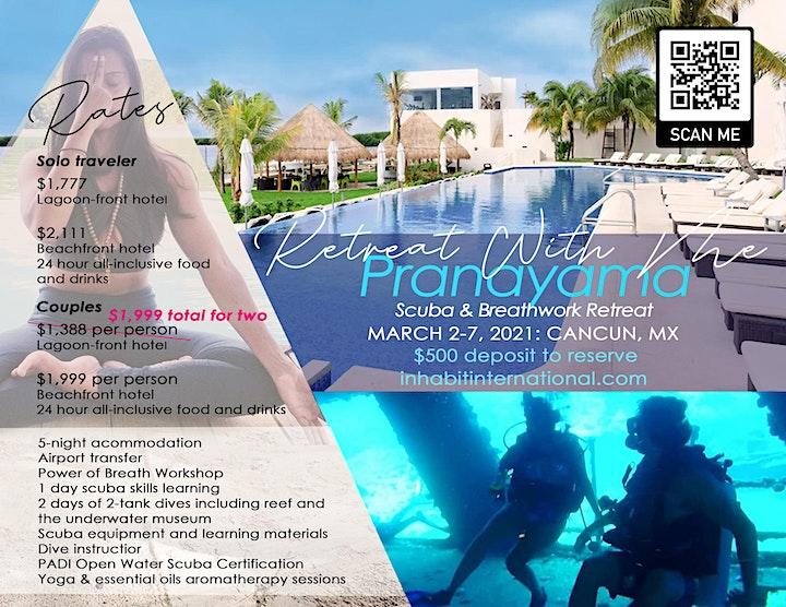 Pranayama: Scuba, Yoga & Breathwork Retreat image