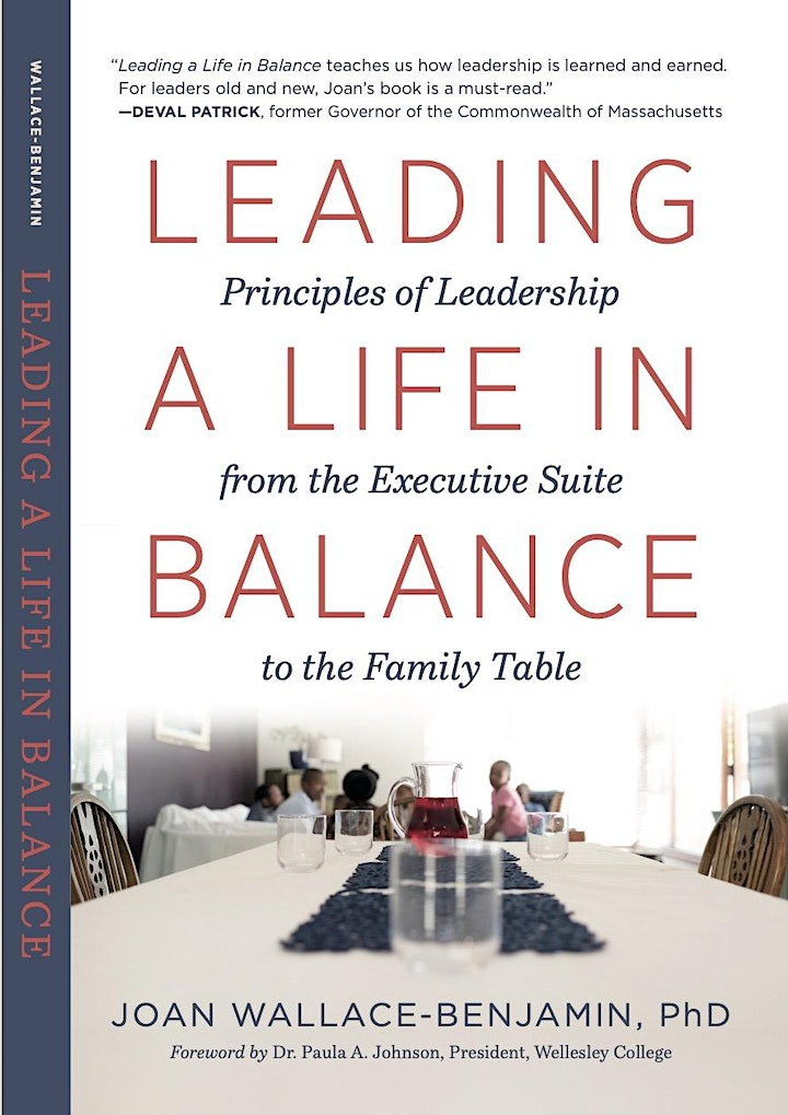 Leading a Life in Balance:  A Conversation with Joan Wallace-Benjamin, PhD image