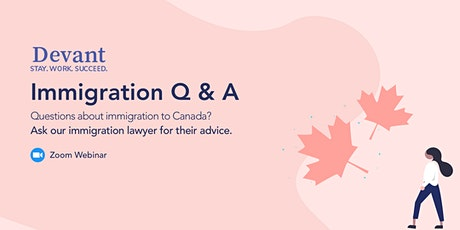 Ask the Expert: Immigration Q and A tickets