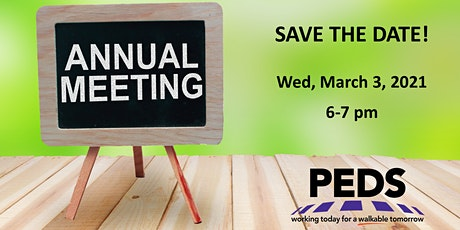 PEDS Annual Members Meeting tickets