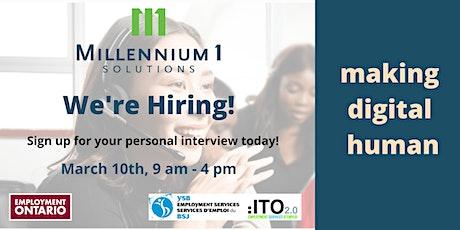 Millennium 1 Solutions - Job Fair tickets