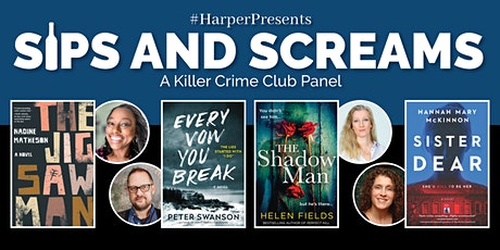 #HarperPresents: Sips and Screams - A Killer Crime Club Panel tickets