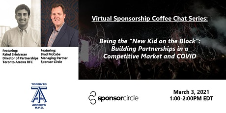 Virtual Coffee Chat - Building Partnerships in a Competitive Market & COVID tickets