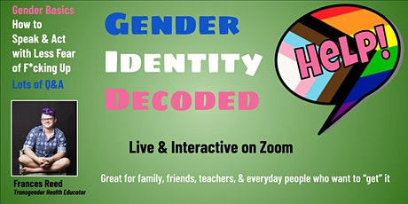 Gender Identity Decoded tickets