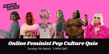 Bechdel Feminist Pop Culture Quiz for International Women's Day 2021 entradas