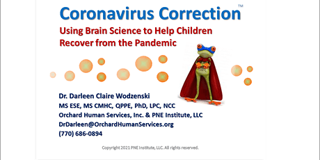 Coronavirus Correction [TM] Brain Science to Heal Child's Pandemic Trauma tickets