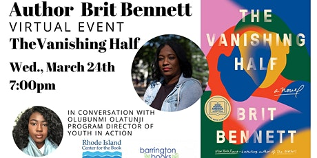 Author Brit Bennett Virtual Book Discussion for The Vanishing Half tickets