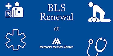BLS | Renewal Class tickets