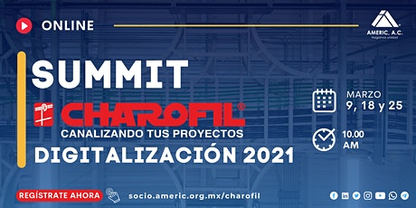 SUMMIT CHAROFIL Digitalización 2021 entradas