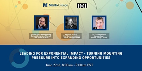Leading for Exponential Impact tickets