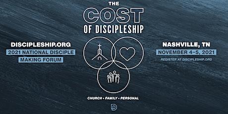2021 National Disciple Making Forum Nashville tickets