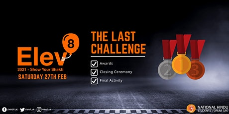 Elev8 2021 - The Last Challenge tickets