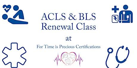 ACLS & BLS | Renewal Class tickets