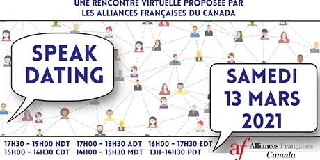 Mois de la Francophonie / Francophony month : Speak Dating - Canada tickets