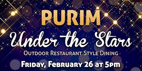 Purim Under the Stars Dinner tickets