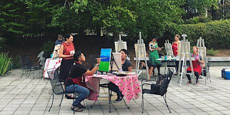 Patio Paint and Sip in The Hudgens' Sculpture Garden tickets