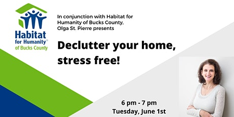 How to Declutter your Home Stress Free! tickets