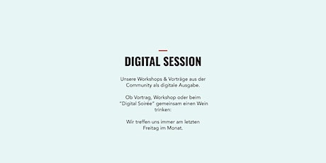 Lean In  Network Hamburg | Digital Session | Mai 2021| Deine Stimme! Tickets