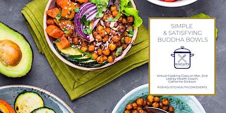 Vegan Buddha Bowls | Virtual Cooking Class on 3/2 entradas