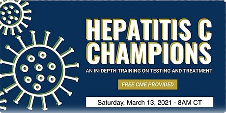 Hepatitis C Champions Training Virtual Conference - March 2021 tickets