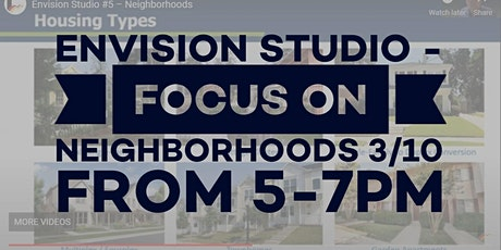 Envision Littleton - Webinar #6: Neighborhoods tickets