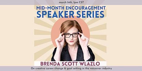 Mid-Month Speaker Series: Brenda Scott Wlazlo tickets